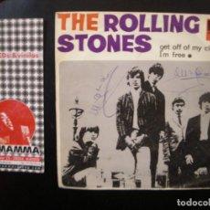 Discos de vinilo: THE ROLLING STONES- GET OUT OFF MY CLOUD. Lote 111013391
