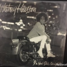 Discos de vinilo: WHITNEY HOUSTON - I'M YOUR BABY TONIGHT - LP. Lote 111028568