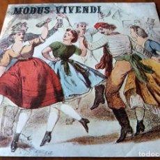 Discos de vinilo: SINGLE - MODUS VIVENDI - AC - DISTRIBUIDO POR ZAFIRO. Lote 111049379