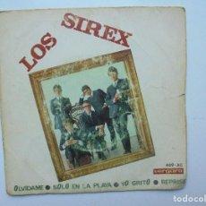 Discos de vinilo: DISCO DE LOS SIREX ''OLVIDAME'' DEL AÑO 1966 ES UN DISCO DE 4 CANCIONES UN EPS. Lote 122698099