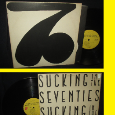 Discos de vinilo: THE ROLLING STONES. - SUCKING IN THE SEVENTIES !! RARA COMPLETA 1ª EDIC ORG USA + ENCARTE, EXC. Lote 52121666