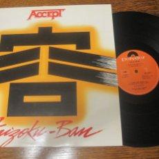 Discos de vinilo: ACCEPT `KAIZOKU-BAN´ LIVE IN JAPAN.. Lote 111013671
