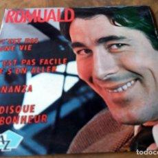 Discos de vinilo: SINGLE - ROMUALD - DISC AZ. Lote 111052359