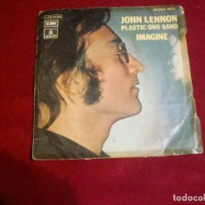Discos de vinilo: JOHN LENNON PLASTIC ONE BAND IMAGINE . Lote 111052563