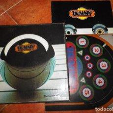 Discos de vinilo: TOMMY THE WHO & PETE TOWNSHEND CAJA CON 2 LP + LIBRETO 1973 ESPAÑA RINGO STARR ROD STEWART BOX SET. Lote 111052723