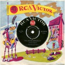 Discos de vinilo: GINETTE ACEVEDO – COLLAR DE CARACOLAS - SG CHILE 1964 - RCA VICTOR 95-2196 . Lote 111063963