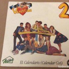 Discos de vinilo: LA ONDA VASELINA. 2. EL CALENDARIO (CALENDAR GIRL). HOME 1992. DISCO PROMOCIONAL.. Lote 111065003