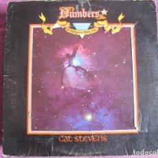 Discos de vinilo: LP - CAT STEVENS - NUMBERS (USA, ISLAND RECORDS 1975). Lote 111073011