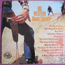 Dischi in vinile: LP - GEOFF LOVE AND HIS ORCHESTRA - BIG WESTERN MOVIE THEMES (ENGLAND, MFP RECORDS SIN FECHA). Lote 111076067