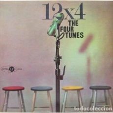 Discos de vinilo: THE FOUR TUNES, 12X4, U.S.A. ORIGINAL 1957 RHYTHM & BLUES,VOCAL, DOO WOOP. Lote 111098827