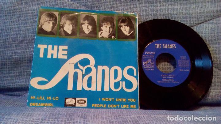 THE SHANES - HI-LILI, HI-LO + 3 - EP EDICION ESPAÑOLA DEL AÑO 1966 - MUY DIFICIL (Música - Discos de Vinilo - EPs - Pop - Rock Extranjero de los 50 y 60)