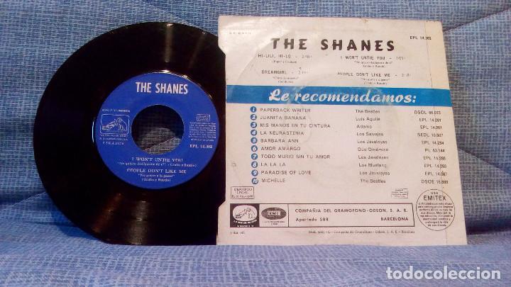 Discos de vinilo: THE SHANES - HI-LILI, HI-LO + 3 - EP EDICION ESPAÑOLA DEL AÑO 1966 - MUY DIFICIL - Foto 2 - 111172159