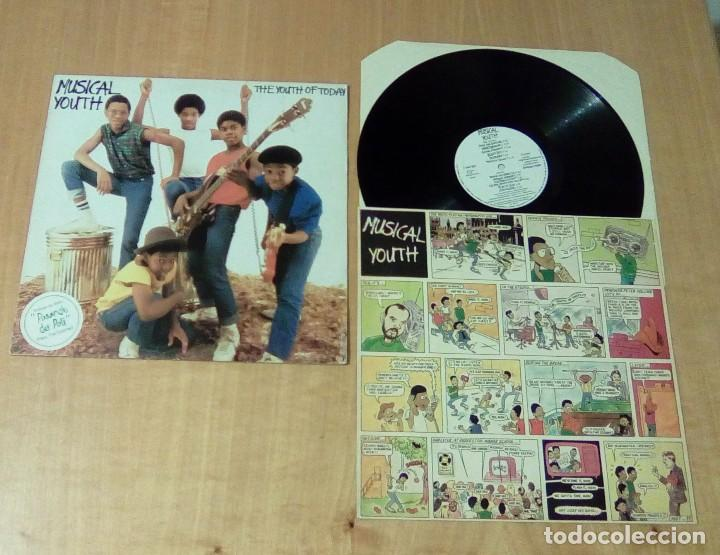 MUSICAL YOUTH - THE YOUTH OF TODAY (LP 1982, RED BUS I-205.877) (Música - Discos - LP Vinilo - Reggae - Ska)