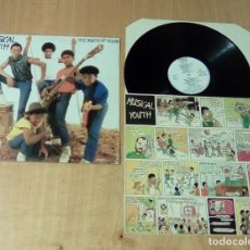 Discos de vinilo: MUSICAL YOUTH - THE YOUTH OF TODAY (LP 1982, RED BUS I-205.877). Lote 111180155