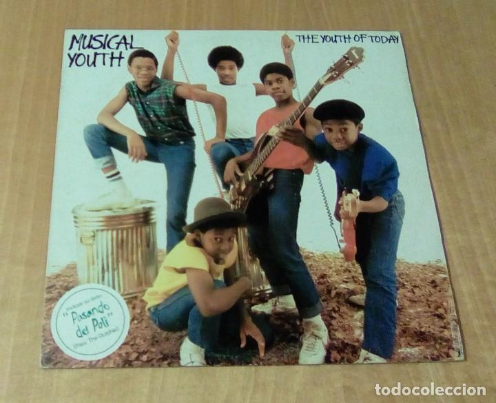 Discos de vinilo: MUSICAL YOUTH - The Youth Of Today (LP 1982, Red Bus I-205.877) - Foto 2 - 111180155