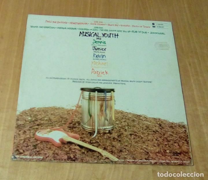 Discos de vinilo: MUSICAL YOUTH - The Youth Of Today (LP 1982, Red Bus I-205.877) - Foto 3 - 111180155