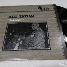 Discos de vinilo: ART TATUM - MASTERPIECES- LP 1982 PLATINUM JAZZ.. Lote 111180383