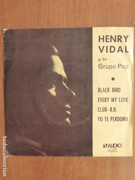 HENRY VIDAL Y SU GRUPO POP-BLACK BIRD +3 TEMAS-SINGLE 1976-SENSACIONAL SOUL-MUY RARO.PERFECTO ESTADO (Música - Discos de Vinilo - EPs - Funk, Soul y Black Music)