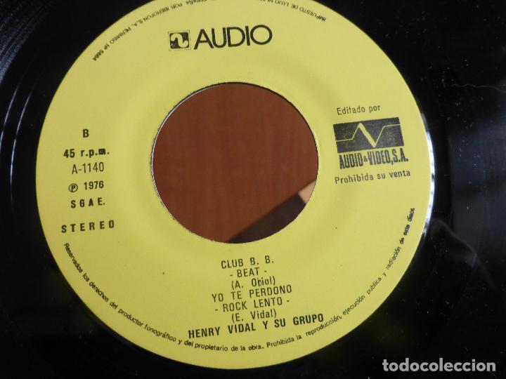 Discos de vinilo: HENRY VIDAL Y SU GRUPO POP-BLACK BIRD +3 TEMAS-SINGLE 1976-SENSACIONAL SOUL-MUY RARO.PERFECTO ESTADO - Foto 2 - 111215211
