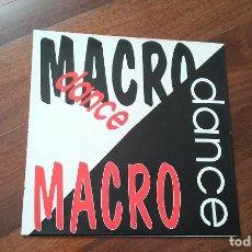 Disques de vinyle: MACRO DANCE-JOVI D.J,DOMINIO PUBLICO,ZODIAC..LP . Lote 111217011