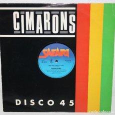 Discos de vinilo: CIMARONS BIG GIRLS DON'T CRY 1982 UK MAXI SINGLE 12 LP MPL PAUL MCCARTNEY. Lote 111220223