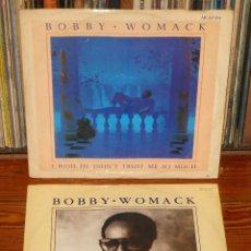 Discos de vinilo: BOBBY WOMACK 2X MAXI SINGLES 12 SOUL R&B. Lote 111221347