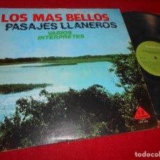 Discos de vinilo: LOS MAS BELLOS PASAJES LLANEROS LP DISCOMODA VENEZUELA RECOPILATORIO RAQUEL CASTAÑOS+ENEAS PERDOMO. Lote 111222479