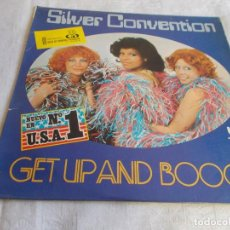Discos de vinilo: SILVER CONVENTION GET UP AND BOOGIE . Lote 111232183
