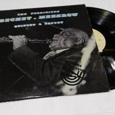 Discos de vinilo: THE PRODIGIOUS BECHET -MEZZROW QUINTET & SEXTET LP 1976. Lote 111232775