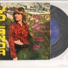 Discos de vinilo: YOLANDA LA SALUD-LA CATEDRAL DE WINCHESTER VICTORIA 1966. Lote 111232791