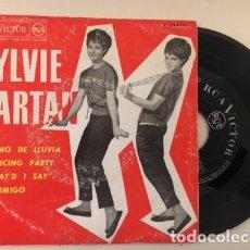 Discos de vinilo: SYLVIE VARTAN -RITMO DE LLUVIA + 3 / EP RCA 1963 SPAIN. Lote 111239899