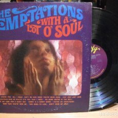 Discos de vinilo: THE TEMPTATIONS WITH A LOT O' SOUL LP USA 1967 PDELUXE. Lote 111243707