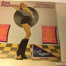 Discos de vinilo: REF35 LP SEX PISTOLS, FLOGGING A DEAD HORSE (VIRGIN ARIOLA) ESPAÑA. Lote 111248247