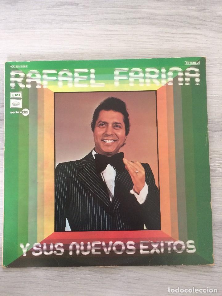 RAFAEL FARINA Y SUS NUEVOS EXITOS LP. (Música - Discos de Vinilo - Maxi Singles - Flamenco, Canción española y Cuplé)
