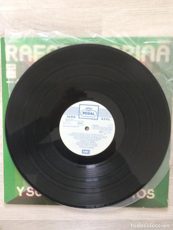 Discos de vinilo: Rafael Farina y sus nuevos exitos lp. - Foto 2 - 111251203