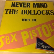Discos de vinilo: REF35 LP SEX PISTOLS, NEVER MIND THE BOLLOCKS VIRGIN 1977 E-25593 EDICION ESPAÑA. Lote 111252335