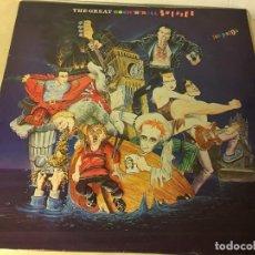 Discos de vinilo: REF35 LP SEX PISTOLS EDICION ESPAÑOLA.1980 THE GREAT ROCK´N´ROLL SWINDLE. Lote 111255543