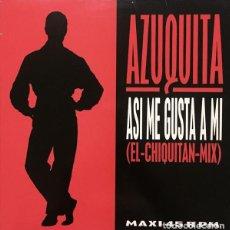 Discos de vinilo: AZUQUITA / ASI ME GUSTA A MI (REMIX) MAXI POLYDOR DE 1993) . Lote 111257671