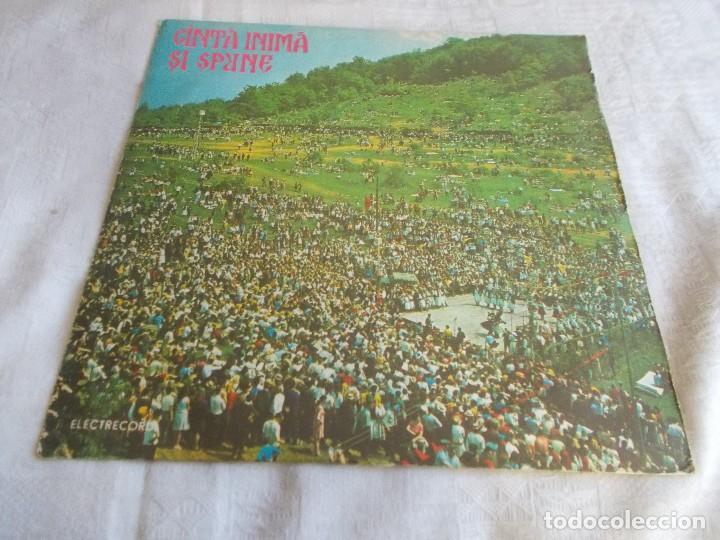 CINTÀ INIMÀ SI SPRNE DISCO RUMANO (Música - Discos - LP Vinilo - Étnicas y Músicas del Mundo)