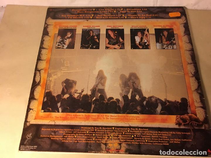 Discos de vinilo: REF35 LP laaz rockit - know your enemy enigma dro 1987 EDICION ESPAÑOLA - Foto 2 - 111273103