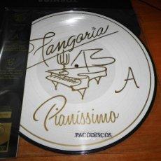 Discos de vinilo: FANGORIA PIANISSIMO LP VINILO NUEVO PICTURE DISC + CD EDICION NUMERADA Nº 0465/1500 ALASKA. Lote 111273642