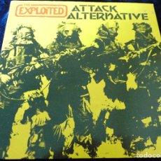 Discos de vinilo: THE EXPLOITED – ATTACK / ALTERNATIVE - SINGLE UK. Lote 111278839