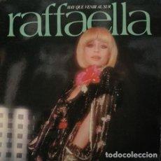 Disques de vinyle: RAFFAELLA CARRA - HAY QUE VENIR AL SUR - LP DE VINILO 5 CANCIONES CANTADAS EN ESPAÑOL 1978. Lote 111288311