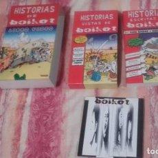 Discos de vinilo: CD+VHS+LIBRO-BOIKOT-HISTORIAS DE BOIKOT. Lote 111303359