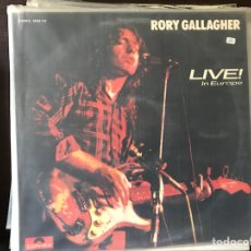 Discos de vinilo: LIVE IN EUROPE. RORY GALLAGHER. Lote 111305723