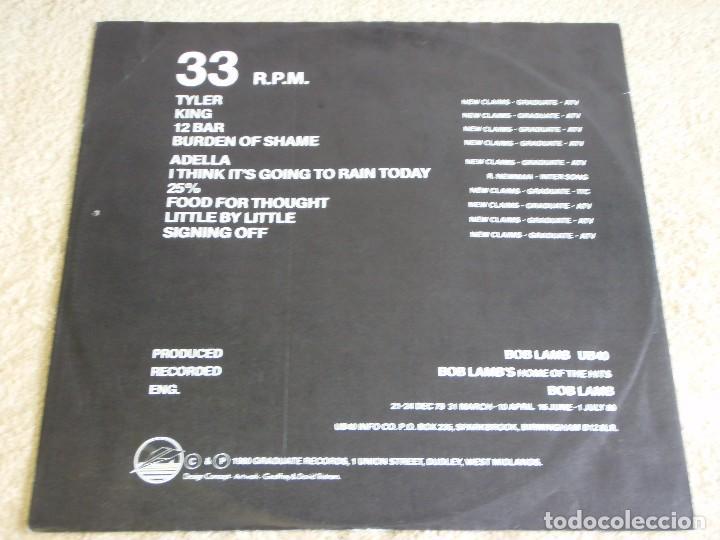 Discos de vinilo: UB40 ( SIGNING OFF ) LP33+MAXI45 1980-SWEDEN GRADUATE RECORDS - Foto 4 - 111316859