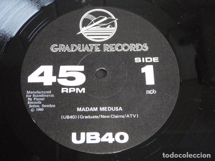 Discos de vinilo: UB40 ( SIGNING OFF ) LP33+MAXI45 1980-SWEDEN GRADUATE RECORDS - Foto 5 - 111316859