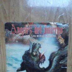 Discos de vinilo: ANGELES DEL INFIERNO -CON LAS BOTAS PUESTAS/SINGLE 1985/SPAIN/HEAVY METAL/VG(OBUS-BARON ROJO). Lote 111320091