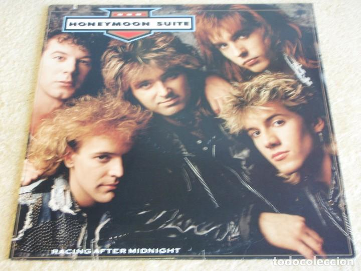 HONEYMOON SUITE ( RACING AFTER MIDNIGHT ) USA - 1988 LP33 WARNER BROS RECORDS (Música - Discos - LP Vinilo - Pop - Rock - New Wave Extranjero de los 80)