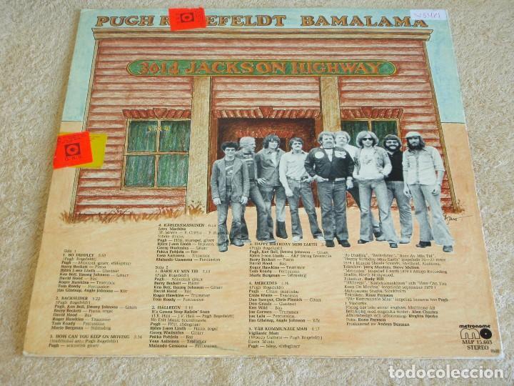 Discos de vinilo: PUGH ( BAMALAMA ) 1977 - SWEDEN LP33 METRONOME RECORDS - Foto 2 - 111327055